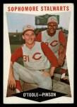 1960 Topps #32   -  Jim O'Toole / Vada Pinson Sophomore Stalwarts Front Thumbnail