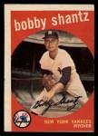 1959 Topps #222  Bobby Shantz  Front Thumbnail