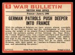 1965 Philadelphia War Bulletin #5   End Run Back Thumbnail