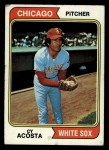 1974 Topps #22  Cy Acosta  Front Thumbnail