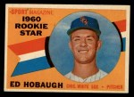 1960 Topps #131   -  Ed Hobaugh Rookies Front Thumbnail