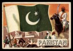 1956 Topps Flags of the World #72   Pakistan Front Thumbnail