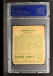 1933 Goudey Sport Kings #3   Nat Holman  Back Thumbnail