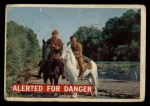 1956 Topps Davy Crockett #7 ORG Alerted For Danger   Front Thumbnail
