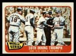 1965 Topps #136  1964 World Series - Game #5 - 10th Inning Triumph  -  Tim McCarver / Bill White / Dick Groat / Mike Shannon Front Thumbnail