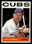 1964 Topps #286   Don Landrum Front Thumbnail