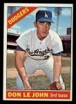 1966 Topps #41  Don LeJohn  Front Thumbnail