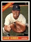 1966 Topps #117   Jake Gibbs Front Thumbnail