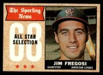 1968 Topps #367  All-Star  -  Jim Fregosi Front Thumbnail