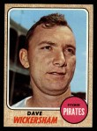 1968 Topps #288   Dave Wickersham Front Thumbnail