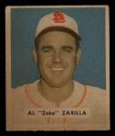 1949 Bowman #156  Al Zarilla  Front Thumbnail