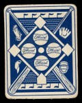 1951 Topps Blue Back #23   Dizzy Trout Back Thumbnail