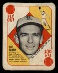 1951 Topps Blue Back #36   Cliff Fannin Front Thumbnail