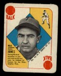 1951 Topps Blue Back #43   Willie Jones Front Thumbnail