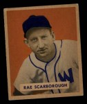 1949 Bowman #140  Rae Scarborough  Front Thumbnail