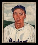 1950 Bowman #194  Billy Cox  Front Thumbnail