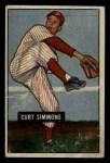 1951 Bowman #111  Curt Simmons  Front Thumbnail