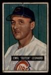1951 Bowman #102  Dutch Leonard  Front Thumbnail