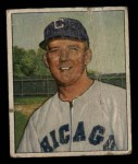 1950 Bowman #91  Cass Michaels  Front Thumbnail