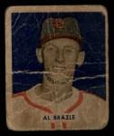 1949 Bowman #126 SCR Al Brazle  Front Thumbnail