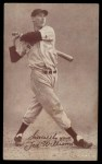 1939 Exhibit Salutations #64 B  -  Ted Williams  Sincerely Yours Front Thumbnail