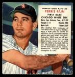 1954 Red Man #22 ALx Ferris Fain  Front Thumbnail