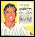 1955 Red Man #11 ALx  Al Rosen Front Thumbnail