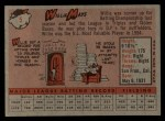 1958 Topps #5   Willie Mays Back Thumbnail