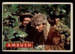1956 Topps Davy Crockett #20 GRN 2 Ambush  Front Thumbnail