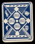 1951 Topps Blue Back #6  Red Schoendienst  Back Thumbnail