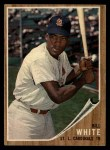 1962 Topps #14  Bill White  Front Thumbnail