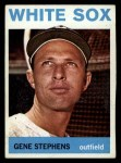 1964 Topps #308   Gene Stephens Front Thumbnail