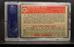 1952 Topps #403  Bill Miller  Back Thumbnail