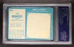 1961 Topps #44   Jim Ringo Back Thumbnail