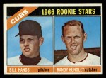 1966 Topps #392  Cubs Rookies  -  Bill Hands / Randy Hundley Front Thumbnail