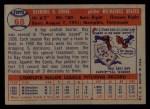 1957 Topps #68  Ray Crone  Back Thumbnail