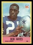 1967 Philadelphia #52  Bob Hayes  Front Thumbnail