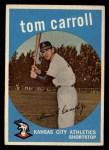 1959 Topps #513   Tom Carroll Front Thumbnail
