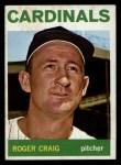 1964 Topps #295   Roger Craig Front Thumbnail