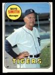 1969 Topps #40  Mayo Smith  Front Thumbnail