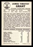 1960 Leaf #25 COR  Jim Grant  Back Thumbnail