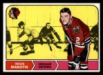 1968 Topps #14  Gilles Marotte  Front Thumbnail