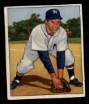 1950 Bowman #107   Sam Dente Front Thumbnail