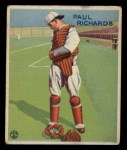 1933 Goudey #142   Paul Richards Front Thumbnail