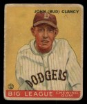 1933 Goudey #32   Bud Clancy Front Thumbnail