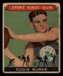 1933 Goudey Sport Kings #33  Eddie Burke   Front Thumbnail
