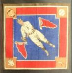 1914 B18 Blankets #57 BLU  Jake Daubert  Front Thumbnail