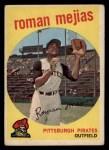 1959 Topps #218  Roman Mejias  Front Thumbnail