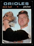 1971 Topps #417   Dick Hall Front Thumbnail