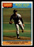 1976 Topps #3  Record Breaker  -  Mickey Lolich Front Thumbnail